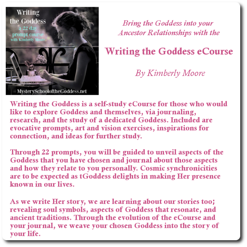 Writing the Goddess Bonus